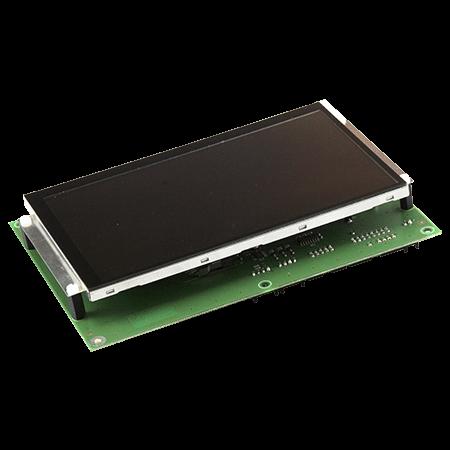 scheda elettronica con display personalizzato